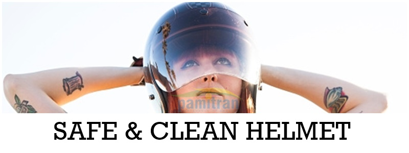 Safe and Clean Helmet